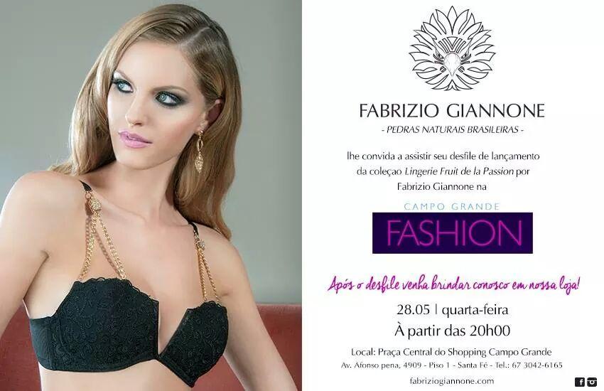 0fcc6c3e7 Desfile e Lançamento das lingeries de Fruit de la Passion e Fabrizio  Giannone